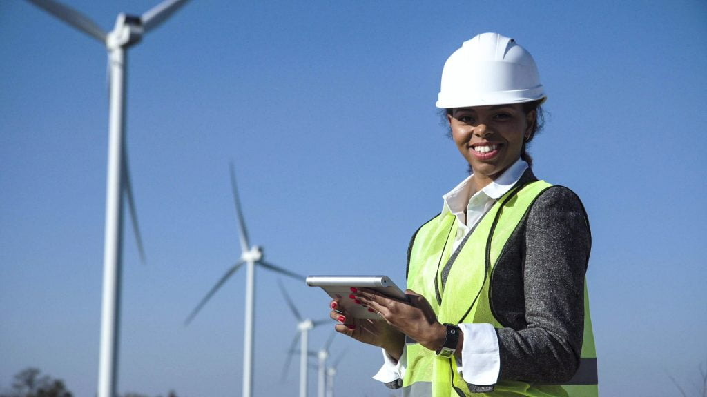woman renewable energy gender equity